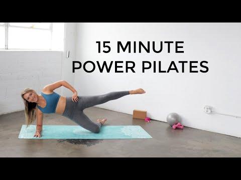 15 Minute #Pilates Mat Workout | #PowerPilates workout