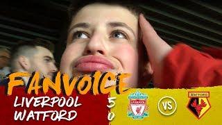 Salah hattrick as Liverpool smash Watford!   Liverpool 5-0 Watford   90min FanVoice