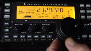 1 watt qrp qso vp8lp in falkland islands and py1ahd elecraft kx3 and a magnetic loop antenna