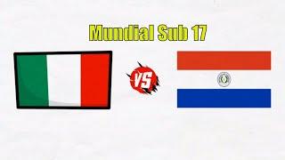 Italia vs Paraguay Sub 17 Do nde ver en vivo Mundial Sub 17 2019
