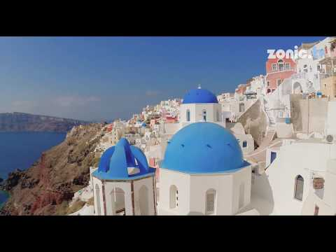 BEST VIDEO of GREECE • SANTORINI (4k)