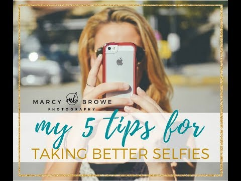 5 tips for better selfies  | Marcy Browe Photography