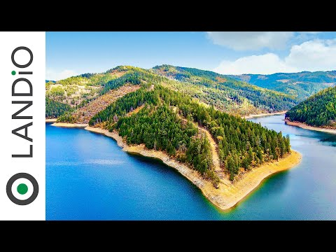 California Land For Sale • 58 Acre Peninsula On Trinity Lake Bordering National Forest • LANDiO