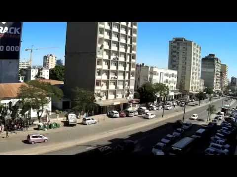 20160729 Timelapse of Busy Downtown Maputo