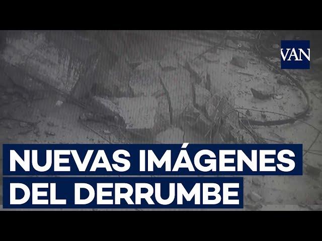 Cámaras captaron el momento exacto del derrumbe del puente en Génova