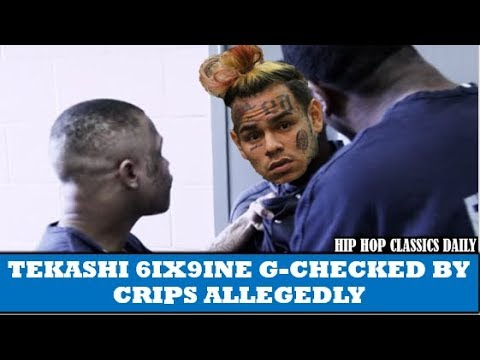 "TEKASHI 6IX9INE ""G-CHECKED"" By CRIPS While Locked Up Reportedly Mp3"