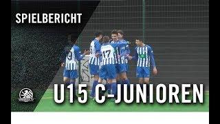 1. FC Union Berlin U15 – Hertha BSC U15 (18. Spieltag, U15 C-Junioren, Regionalliga)