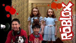ROBLOX REDRUM CREEPY TWINS! STOP IT SLENDER WITH THE CGT BROz GAMETIME ON XBOX1