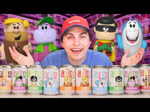 Opening 10 Funko Soda Figures  Record Amount of Chases