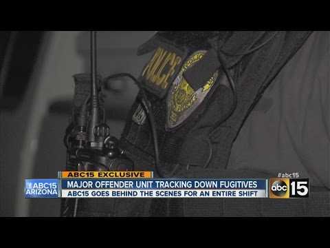 Inside look at Phoenix Police Department's elite Major Offender Unit