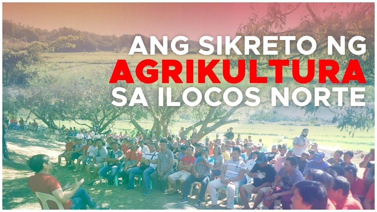 Ang Sikreto ng Agrikultura sa Ilocos Norte