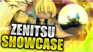 [EXCLUSIVE CODE] Zenitsu FULL SHOWCASE | Roblox | Anime Cross 2