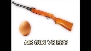 Air Gun Vs Egg!!!