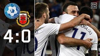 Mitroglou-Doppelpack sichert Platz zwei: Griechenland - Gibraltar 4:0 | Highlights | WM-Quali | DAZN
