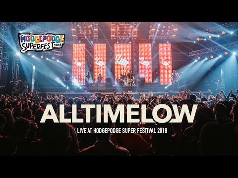 """All TIme Low """"Dear Maria, Count Me"""" In live at Hodgepodge Festival 2018 Mp3"""