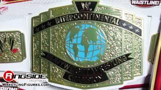 WWE Intercontinental Championship WHITE STRAP Mattel Kids Toy Belt - RSC Figure Insider