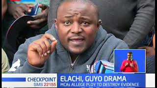 Elachi, Guyo Drama: Crucial files goes missing, MCAs allege plot to destroy graft evidence