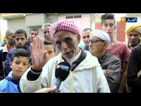 سعيدة تلفزيون النهار يقف على وقائع جريمة قتل بشعة ببلدية أولاد إبراهيم