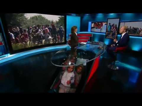 Amanpour,  CNN International, 31 August 2015, Alexander Betts discussing the EU refugee crisis