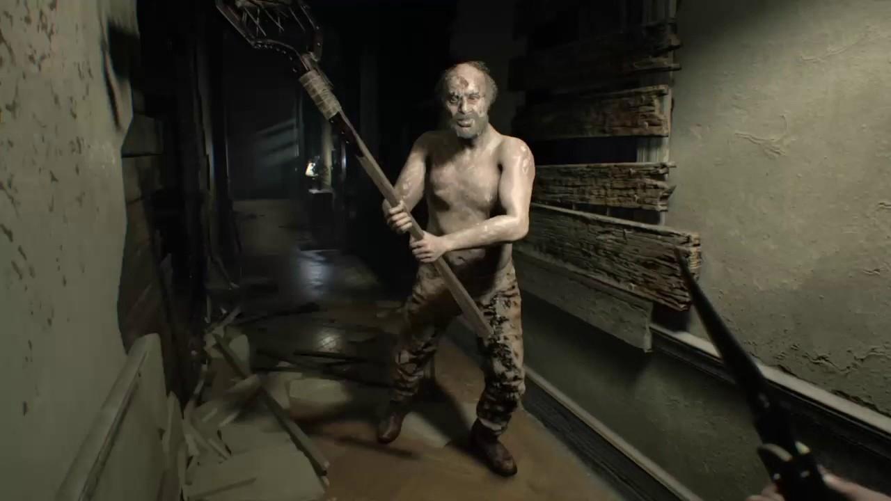 RESIDENT EVIL 7 Jack Baker Madhouse troll session - YouTube
