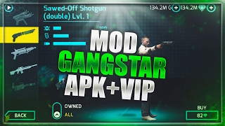 Gangstar Vegas 3.0.0l Mod/Hack Apk - VIP Hack + Unlimited Money/Diamonds/Keys/Ammunition/SkillPoints