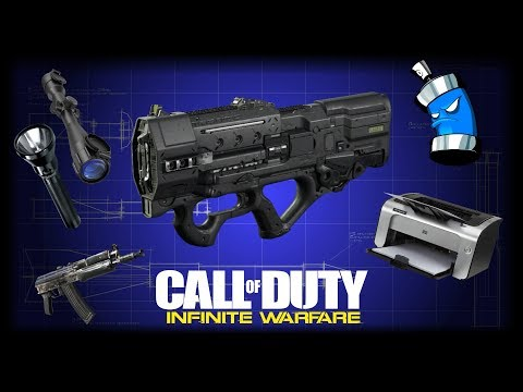 Call of Duty: Infinite Warfare | 7 Additional Unique Epic Weapon Variant Ideas