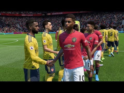FIFA 20 | Manchester United Vs Arsenal - Old Trafford (Full Gameplay)