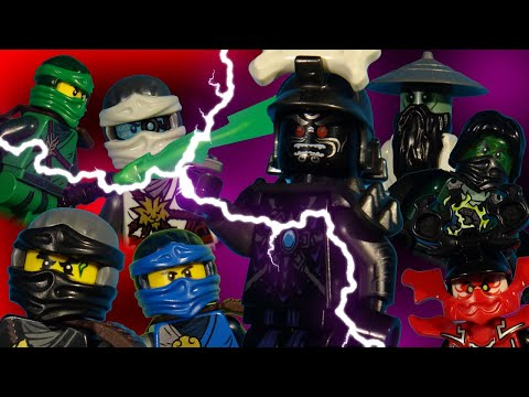 LEGO NINJAGO THE MOVIE - RISE OF THE VILLAINS PART 2 - THE RETURN OF LORD GARMADON