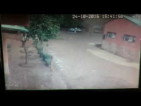 Lightening strikes a lady in Zimbabwe.