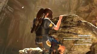 Shadow Of Tomb Raider Missing Gear Climbing Overhang SOLVED!