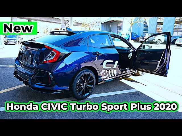 new honda civic turbo sport plus 2020 review interior exterior youtube new honda civic turbo sport plus 2020