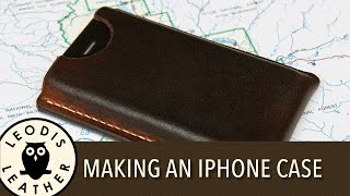 Making a Leather Case for an Apple iPhone