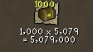Loot from 1000 Caskets