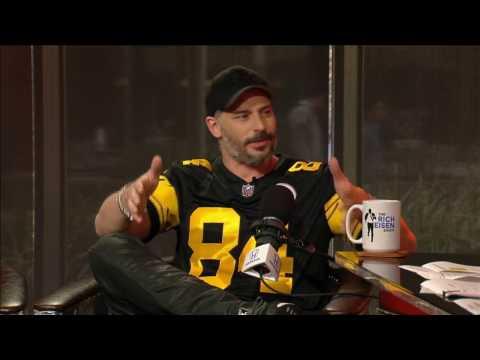 Actor Joe Manganiello on Primanti Bros. Sandwiches & Sofia Vergara in Steelers Gear - 12/5/16