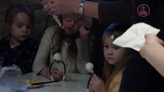 Inglite meisterdamine Tallinna Rootsi-Mihkli koguduse pühapäevakoolis 2018.a. veebruaris