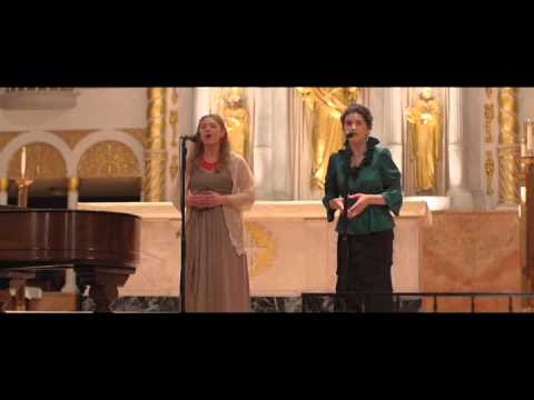 Ellen Marini & Melika Dannese Lux - Concert at The Cathedral Basilica of St. Augustine 2012