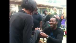 BLACK LOVE IS ALIVE AND WELL!!!! Best Proposal Ever!!!!