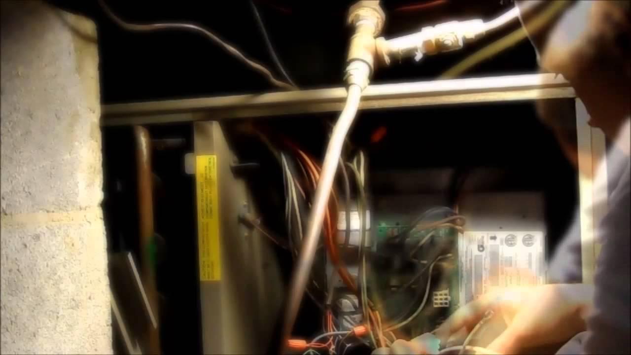 Replacing Goodman Furnace Control Module Youtube Wiring Board