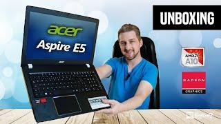 Unboxing Notebook Acer Aspire E5-553G-T4TJ com AMD A10 e vídeo Radeon R7 + Mochila Nitro