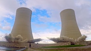 Brayton Point Power Plant Cooling Towers - Controlled Demolition, Inc.