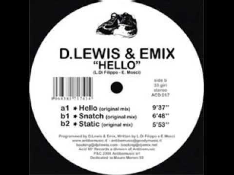 D Lewis & Emix - Hello