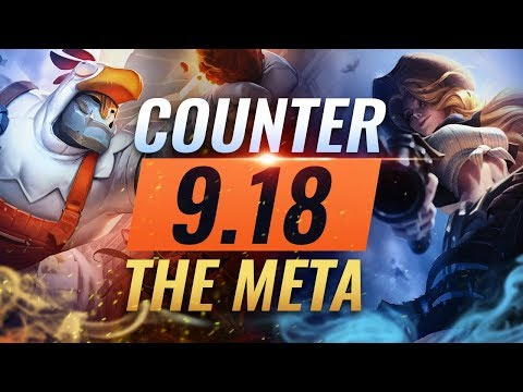 Counter The Meta: BEST Counterpicks For EVERY ROLE - Patch 9.18 - League of Legends Season 9