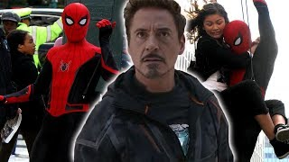 What Spider-Man's NEW SUIT Says About IRON MAN