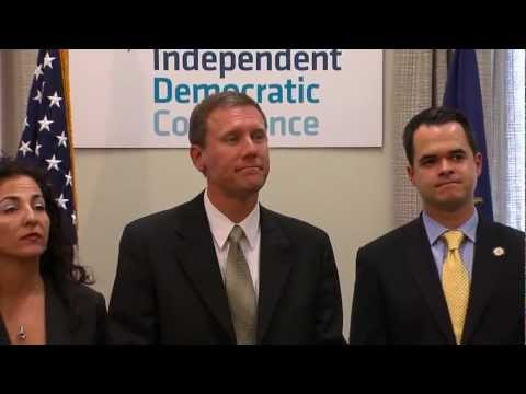 NYS Senate Independent Democratic Conference News Conference - Buy Local - April 18, 2012.mp4