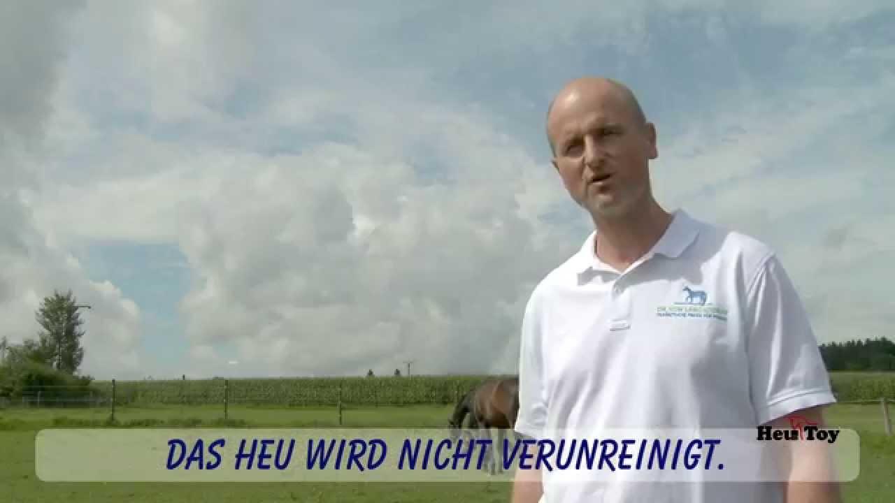 Erfahrung mit unserem HeuToy - Dr. Kai von Langsdorff
