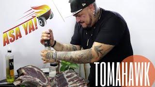 "Tomahawk de ""Asa Ya"" | El Sazón Del Muerto"