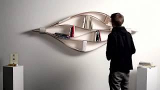Chuck the flexible wall shelf