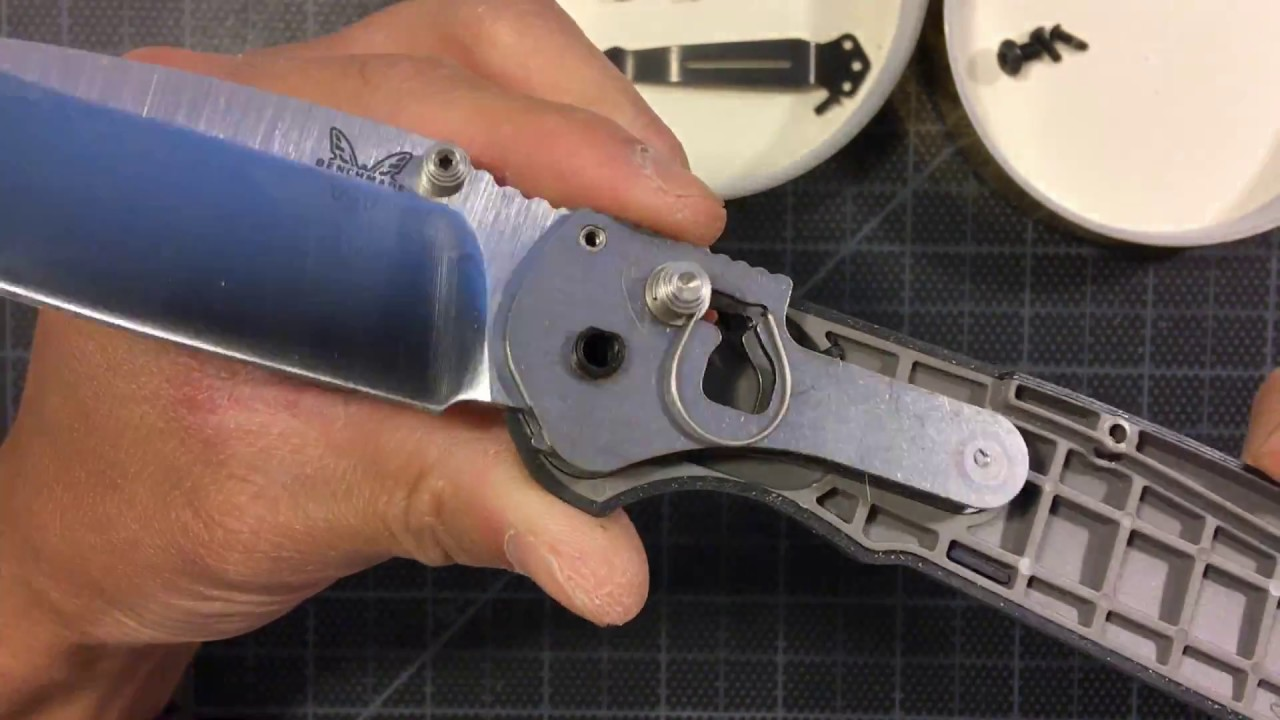 Benchmade 560 Freek disassembly (near Fail)