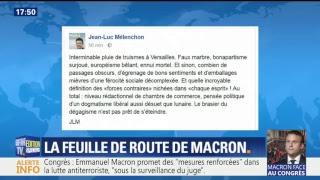 Discours de Macron à Versailles - Live BFMTV