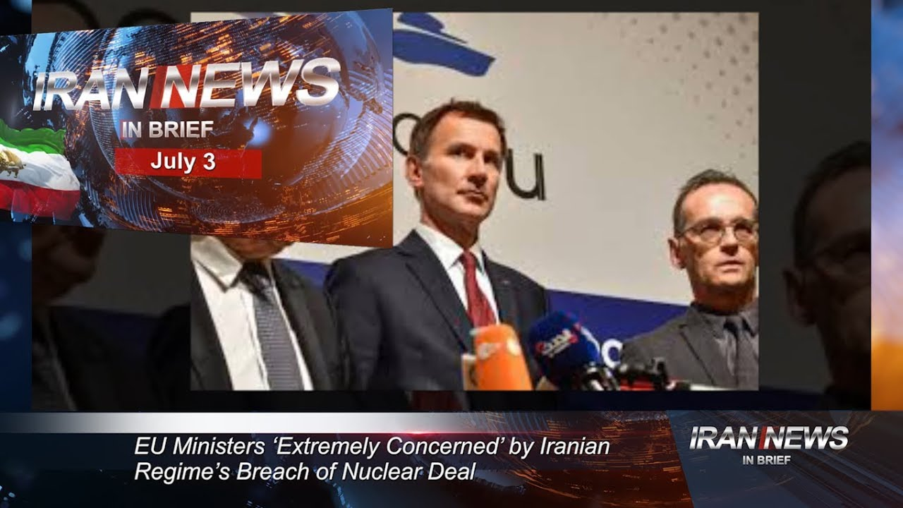 Iran news in brief, July 3, 2019